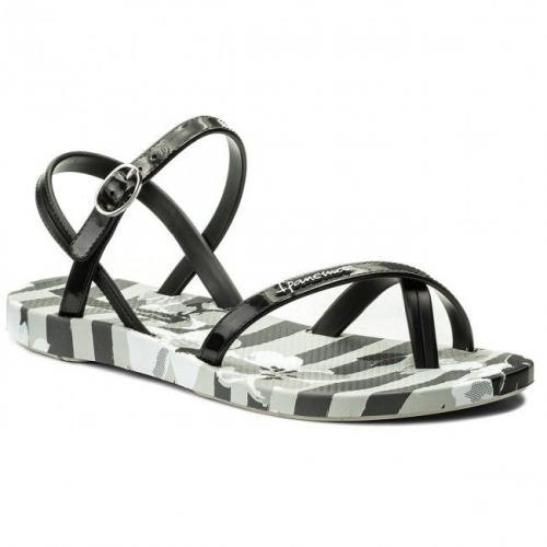 Ipanema Sandały damskie Fashion Sandal V Fem szaro-czarne r. 41/42 (82291)
