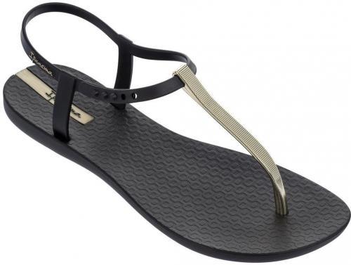 Ipanema Sandały damskie Charm V Sandal Fem czarno-złote r. 37 (82283)