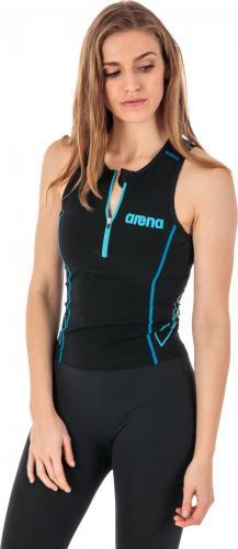 Arena Koszulka triathlonowa damska Triathlon Top ST czarna r. S (1A916/55)