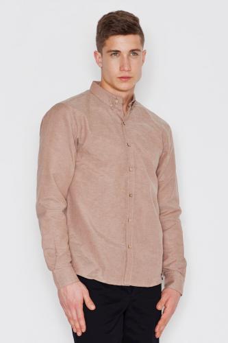 Visent Koszula męska V019 Beż r. XL