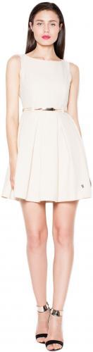 Venaton Sukienka VT078 Beżowa r. S (VT078SFS)