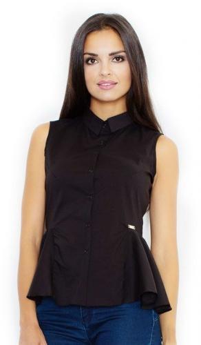 Figl Koszula M357 czarna r. XL
