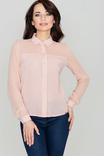 Lenitif Koszula damska K229 Różowa r. XL