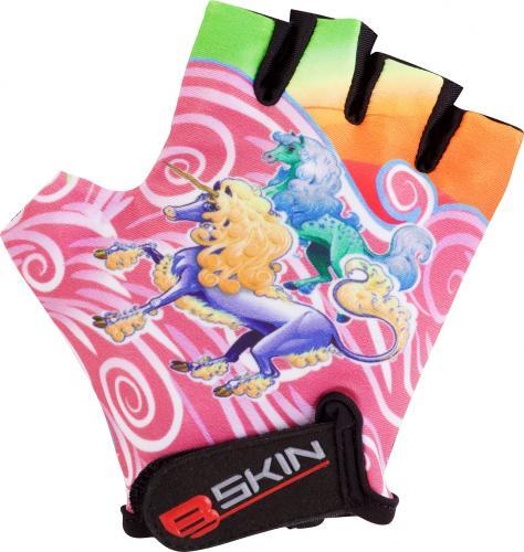 Merida Rękawiczki rowerowe B-SKIN Unicorn Rainbow wielokolorowe r. 8 (0593)