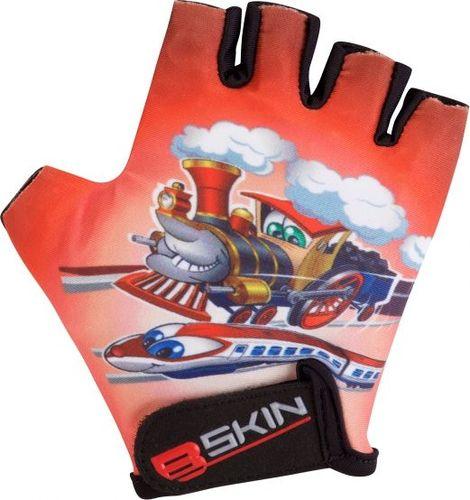 Merida Rękawiczki rowerowe B-SKIN Trains czerwone r. 8 (GV-BS556)