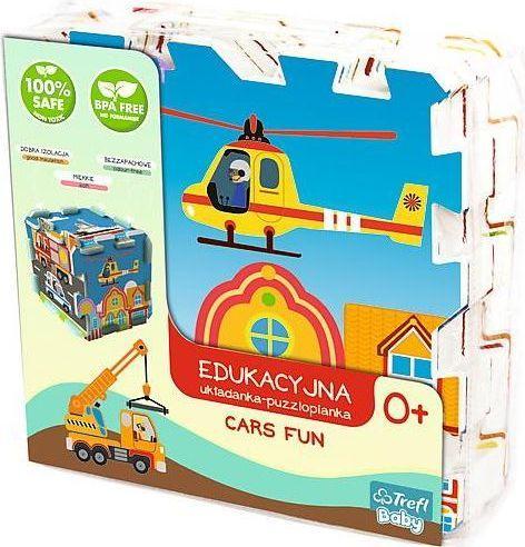 Trefl Edukacyjna Układanka Puzzlopianka Cars Fun 5w1 (60754)