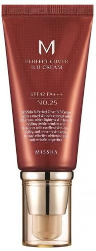 Missha M Perfect Cover BB Cream SPF42/PA+++  25 Warm Beige  50ml