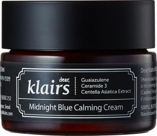 Klairs Midnight Blue Calming Cream Intensywnie łagodzący krem do twarzy 30ml