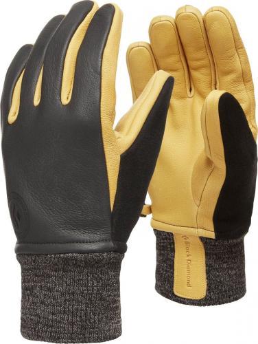 Black Diamond Rękawiczki narciarskie Dirt Bag czarno-żółte r. M