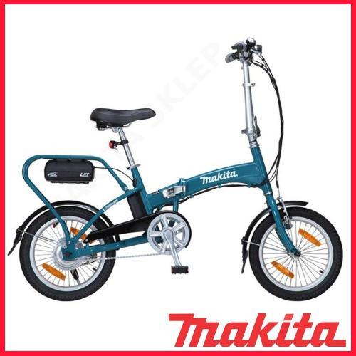 Makita Rower składany ze wspomaganiem elektrycznym niebieski (BBY180Z)