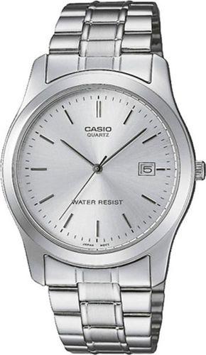 Zegarek Casio Zegarek męski MTP-114PA -7AEF srebrny