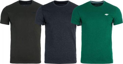 4f Zestaw koszulek męskich r. M (H4L19-TSM002)