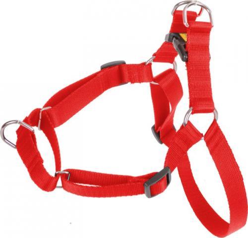 Dingo  Szelki Easy Walk dla psów ciągnących 61-90cm czerwone