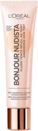 L'Oreal Paris Bonjour Nudista Fluide Teinte BB kremowy podkład do twarzy 01 Clair Light 30ml