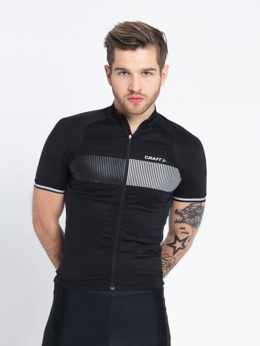Craft Koszulka rowerowa męska Verve Glow czarna r. L (1904995-9999)