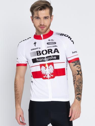 Craft Koszulka rowerowa Bora-Hansgrohe Replica biała r. L (2430)