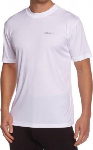 Craft Koszulka męska Prime małe logo biała r. XXL (199205 1900)
