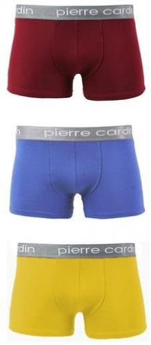 Pierre Cardin Bokserki Matteo 300 3-pack Mix3 - zestaw 3 sztuk r. M