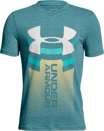 Under Armour Koszulka dziecięca Veritcal Logo T-shirt Green r. XL (1310271716)