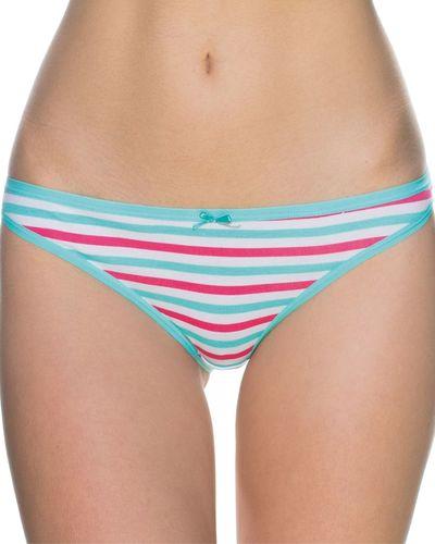 Lama Figi damskie mini bikini L-106MB-03 niebieskie r. S