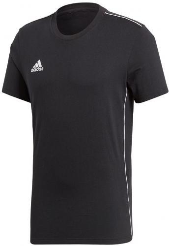 Adidas Koszulka męska Core 18 Tee czarna r. L (CE9063)