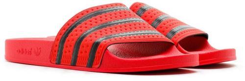 Adidas Klapki unisex Adilette Slides czerwone r. 40.5 (CQ3098)