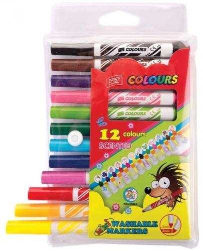 Spokey Pisaki Easy, 12 kolorów, zapachowe (839989)
