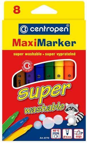 Centropen Marker Maxi, mix, 8 sztuk ( 8770)