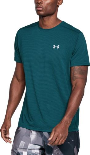 Under Armour Koszulka męska Threadborne Streaker SS Tourmaline Teal r. XL (1271823-716)