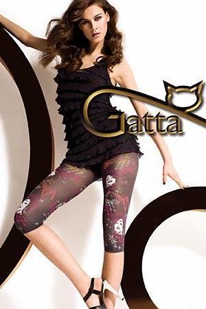 GATTA Leggingsy Missy Wzorzyste  Topino r.4 ( WZ.03)