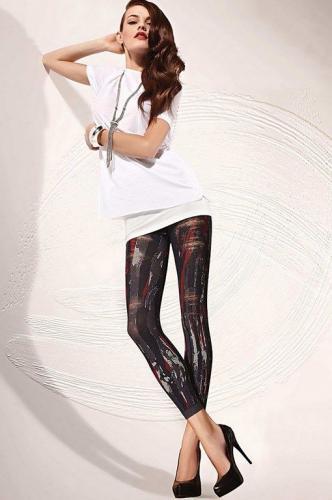 GATTA Legginsy Colly Ann 12 Blu jeans r. 4-L