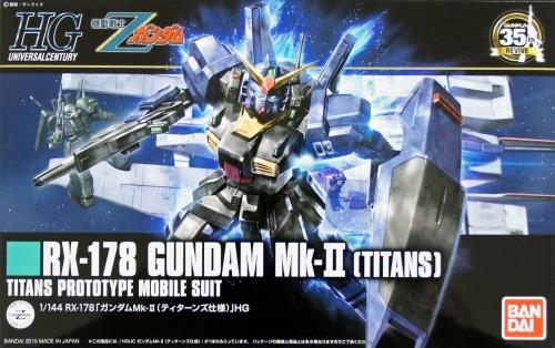 1/144 HG Gundam RX-178 MK-II Titans (4549660013129)