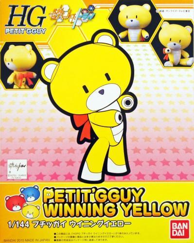1/144 HG Gundam Petitgguy Winning Yellow (4549660005841)