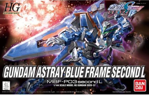 1/144 HG Gundam  Astray Blue Frame (4543112819420)
