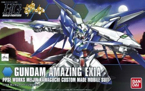 1/144 HG Gundam Amazing Exia (4543112920775)