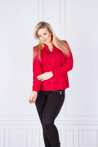 Ptak Moda Koszula damska Czerwona r. 42