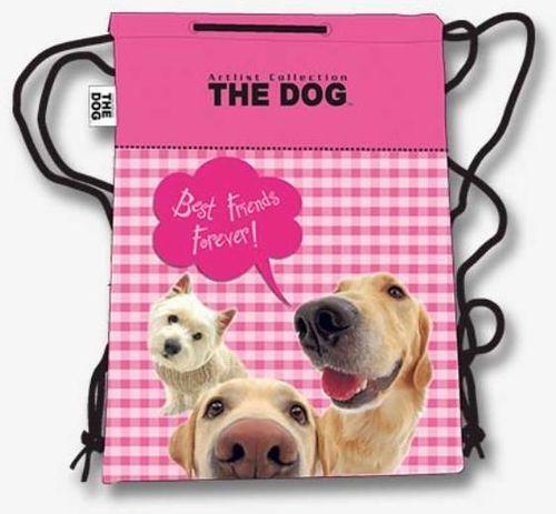 Derform Torba na sznurkach The Dog różowa (284058)