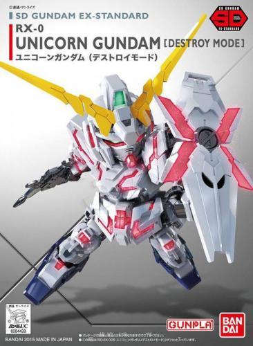 Unicorn Gundam SD EX 005