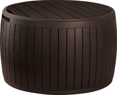 Curver Skrzynia ogrodowa Keter CIRCA WOOD STORAGE BOX 140L brązowy - 230405