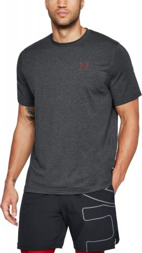 Under Armour Koszulka męska CC Left Chest Lockup Grafitowa r. XS  (1257616-013)