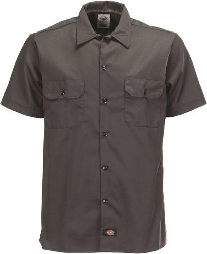 Dickies Koszula męska Slim Shirt szara r. M