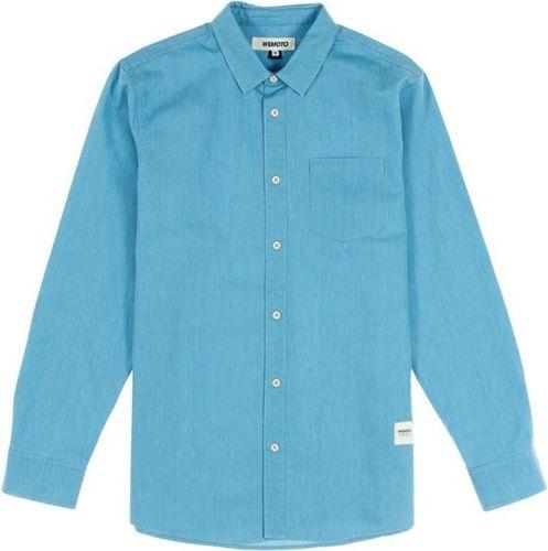 Wemoto Koszula męska Dillinger Light Denim niebieska r. S (322-3)