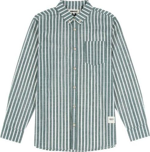 Wemoto Koszula męska Manison Olive szara r. L (321-5)