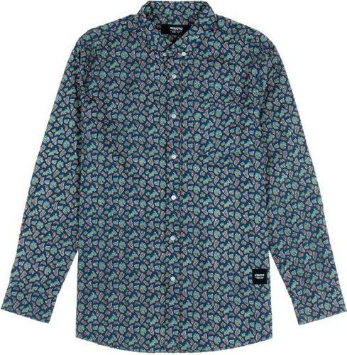 Wemoto Koszula męska Opae Blue niebieska r. L (320-5)