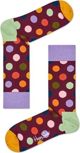 Happy Socks Skarpety unisex bordowe r. 41-46 (BDO01-4001)