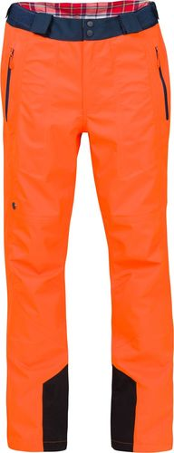 Woox Męskie Spodnie Narciarskie | Pomarańczowe Braccis Lanula Testa Senor -  S - S - 8595564771890