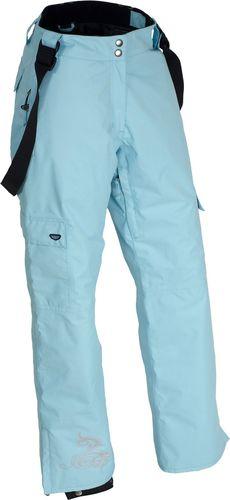Woox Damskie Spodnie Narciarskie | Niebieskie Panto noon - Panto noon 36 - 36 - 8595564717256