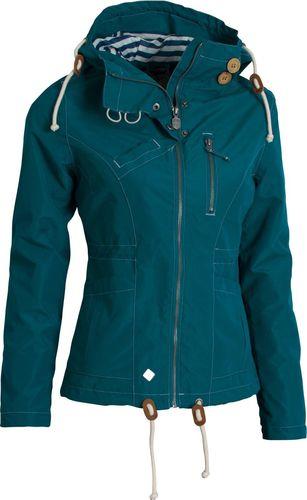Woox Kurtka Damska Drizzle Jacket Ladies´ Blue Morska r. 36