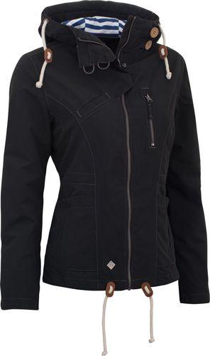 Woox Kurtka damska Drizzle Jacket Ladies´ Dark Czarna r. 34
