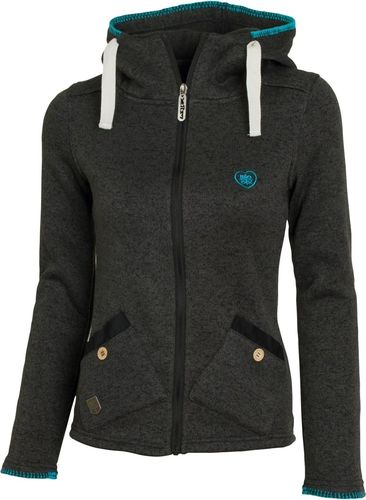 Woox Bluza damska polar Tune Fleece Ladies czarna r. 34